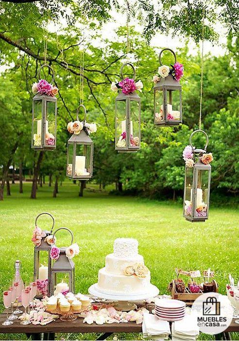 25 Jardines para bodas