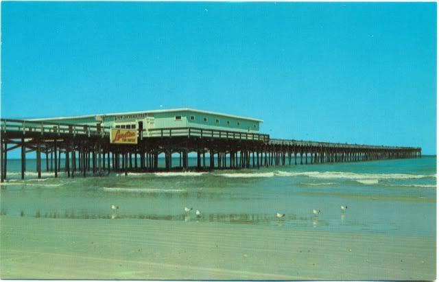 Jacksonville Fl 1960s Old Jax Beach Pier
