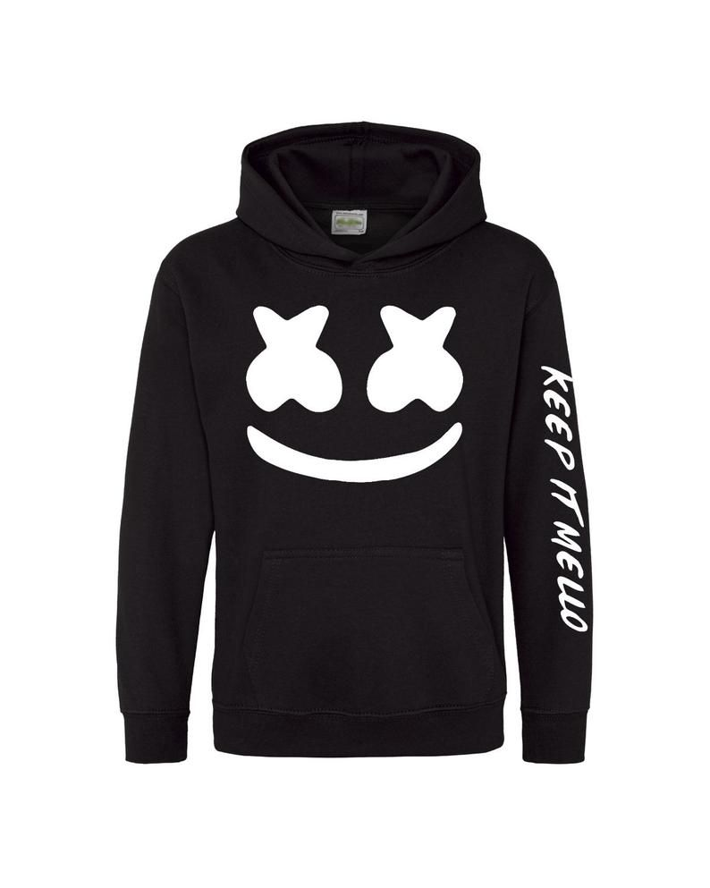 Marshmello For Youth And Adults Hoodie Etsy Hoodies Hoodie Etsy Unisex Hoodies [ 993 x 794 Pixel ]