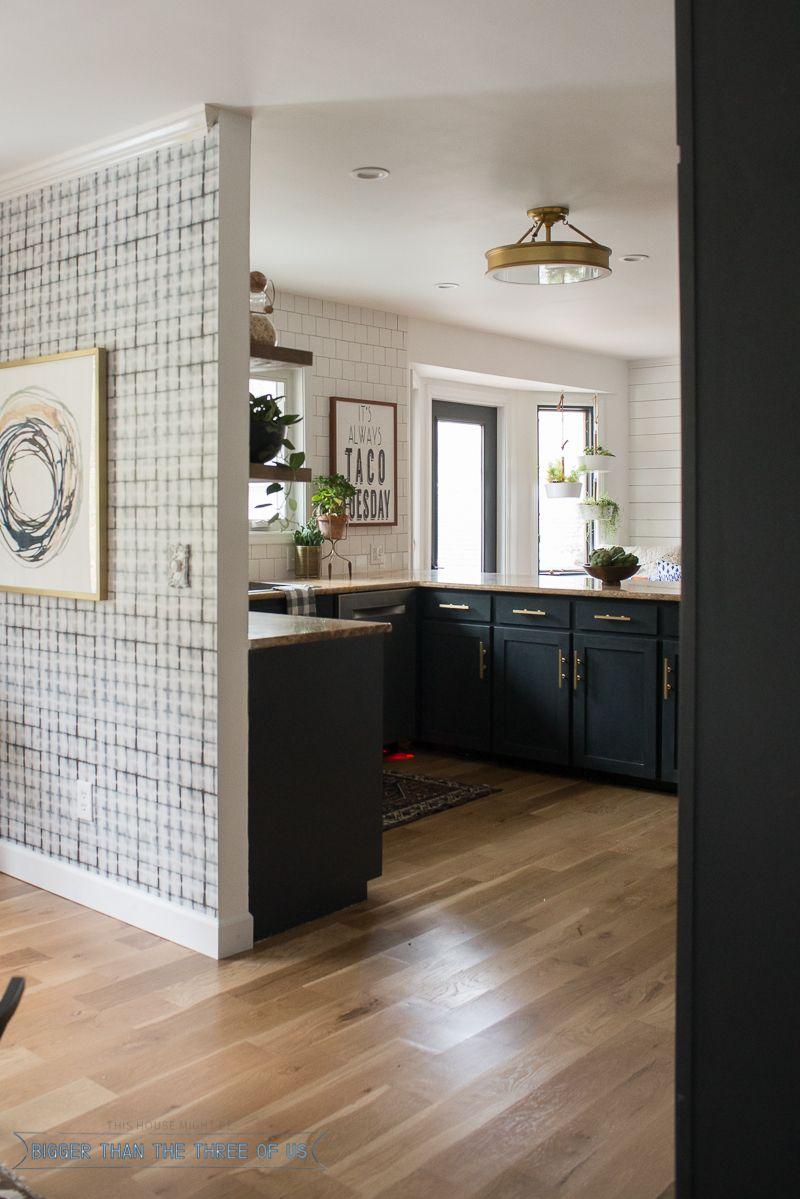 kitchen renovation with dark cabinets and open shelving dark blue kitchens white kitchen on kitchen decor blue id=79739