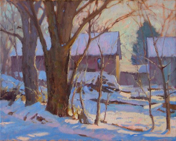 Chris Morel (oil painting)