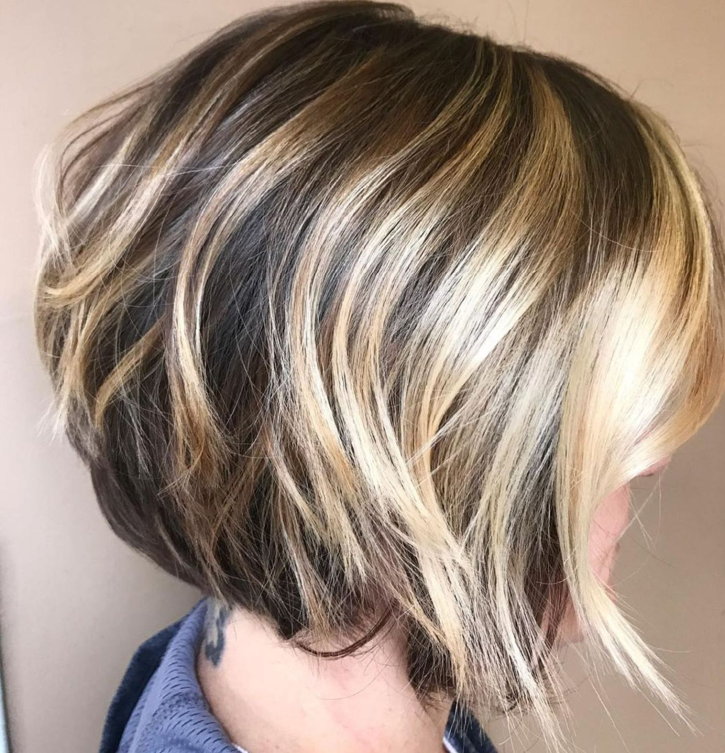 Step cutting hairstyle boy  most beneficial haircuts for thick hair of any length in
