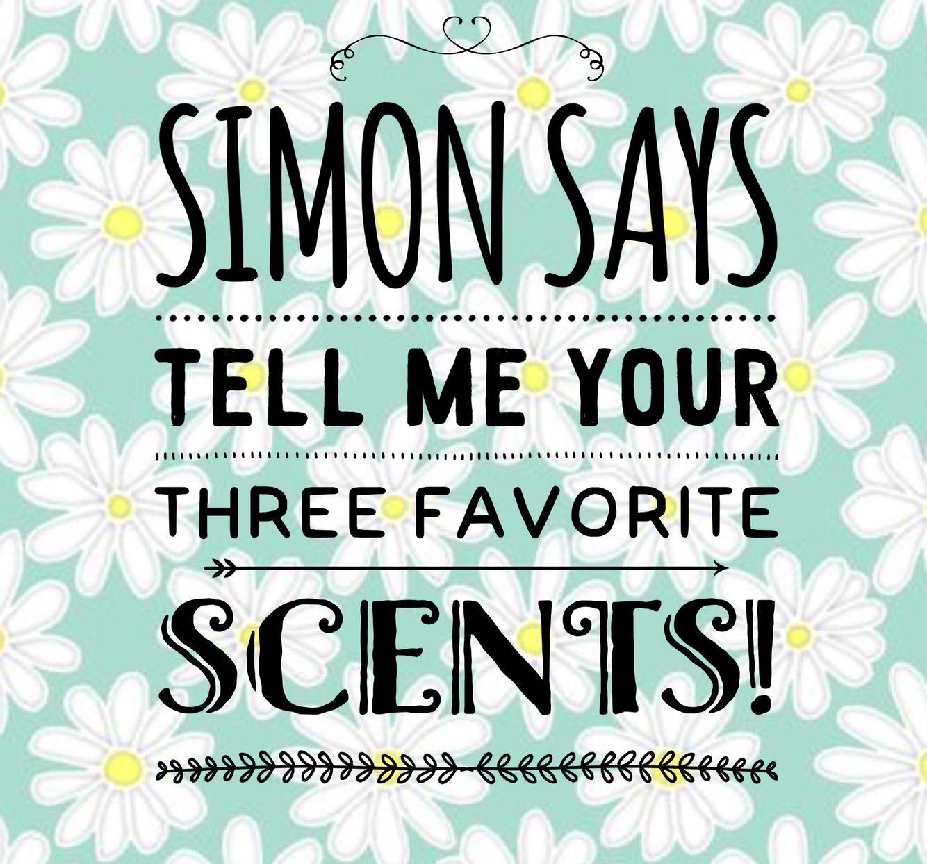 Simon says Scentsy game … Pinteres…