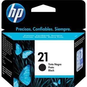 Cartucho de Tinta HP  HP21 C9351AB Preto