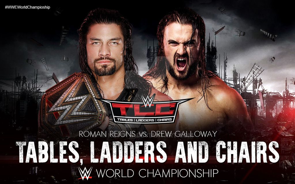 Wwe Tlc Match Card Custom By Kevstif On Deviantart Wwe Tlc Roman Reigns