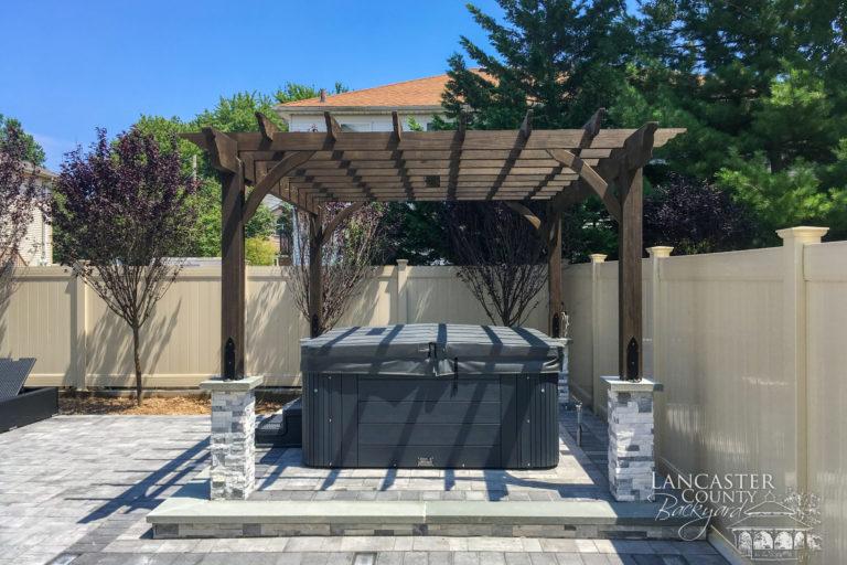 10x12 Custom Cherokee Pergola Stain Pergola Backyard Outdoor Decor