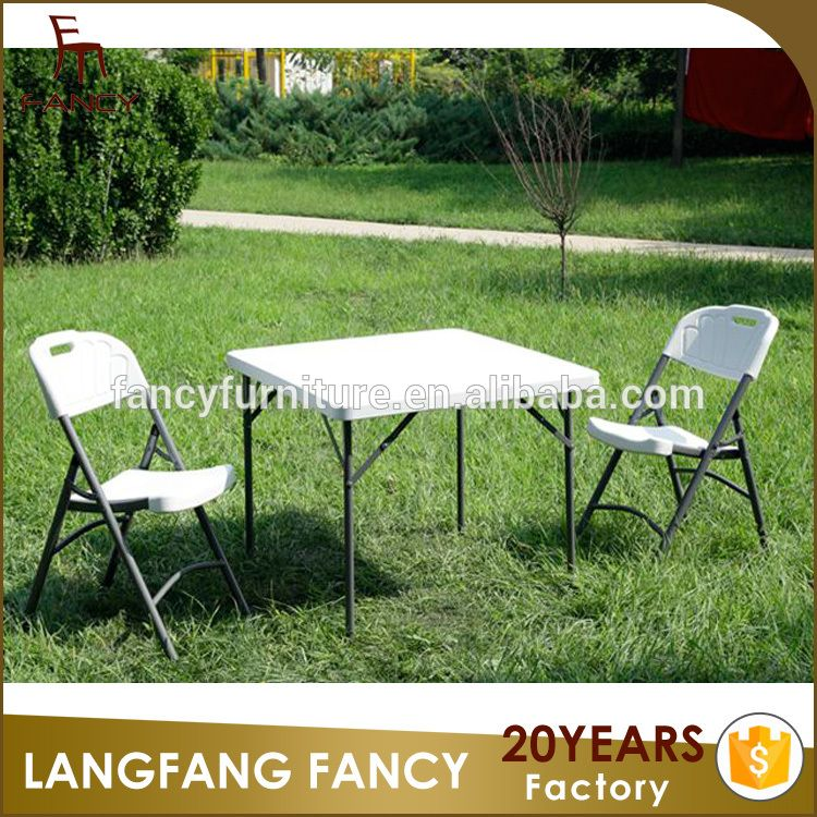Factory Cheap Outdoor Party Tables And Chairs Party Folding Chairs For Sale
