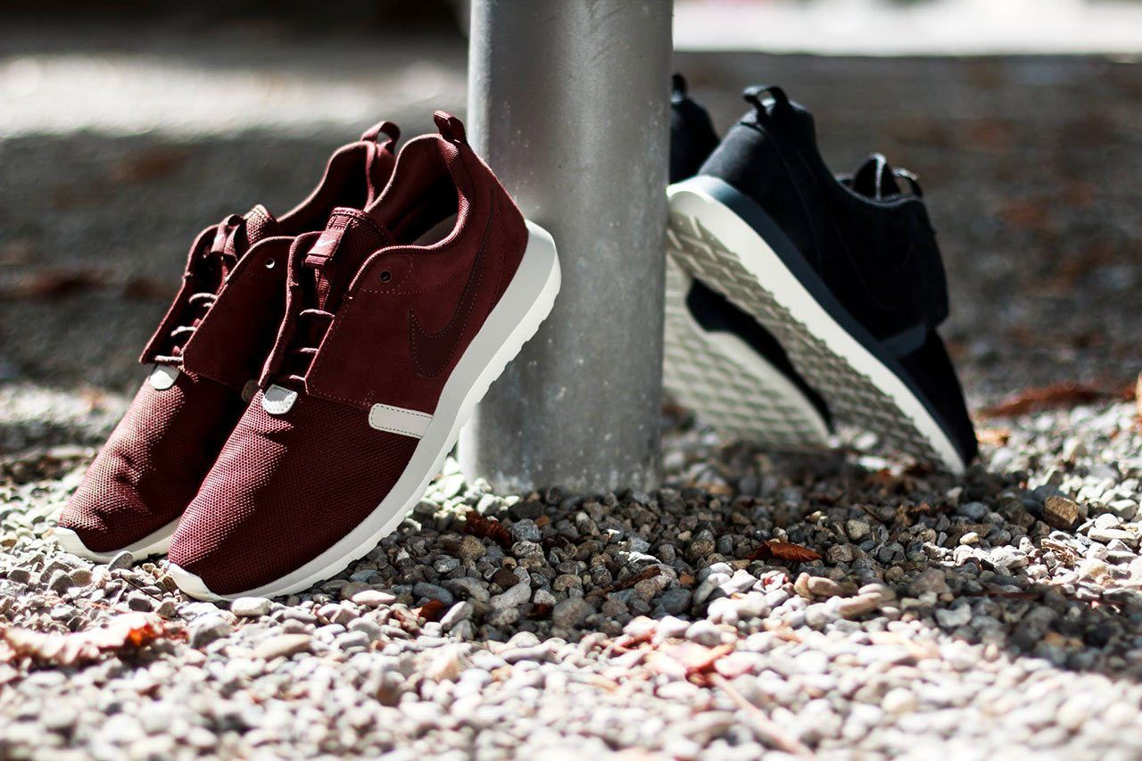 a313b5403b90 Image of Nike Roshe Run NM Barkroot   Black