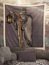 The Hermit Harvest Tarot Card Tapestry  Rider Waite The Hermit Tapestry by Printagrams The Hermit Harvest Tarot Card Tapestry  Rider Waite The Hermit Tapestry by Printagr...