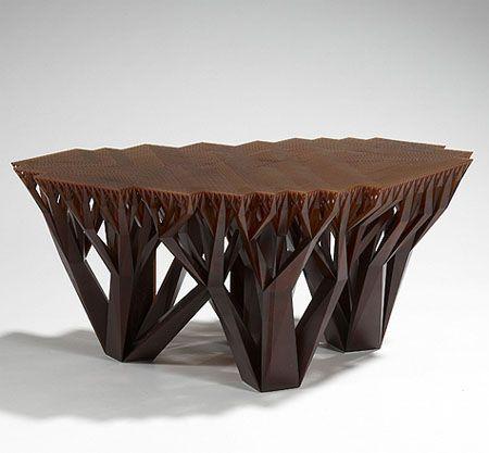 Superior Coffee Tables: Tree Square Brown Contemporary Wooden Unique Coffee Tables,  10 Cool Unique Coffee