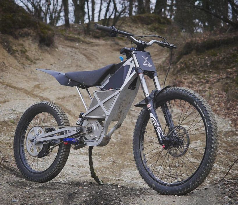 The Lmx 161 Is The World S First Electric Freeride Motorcycle
