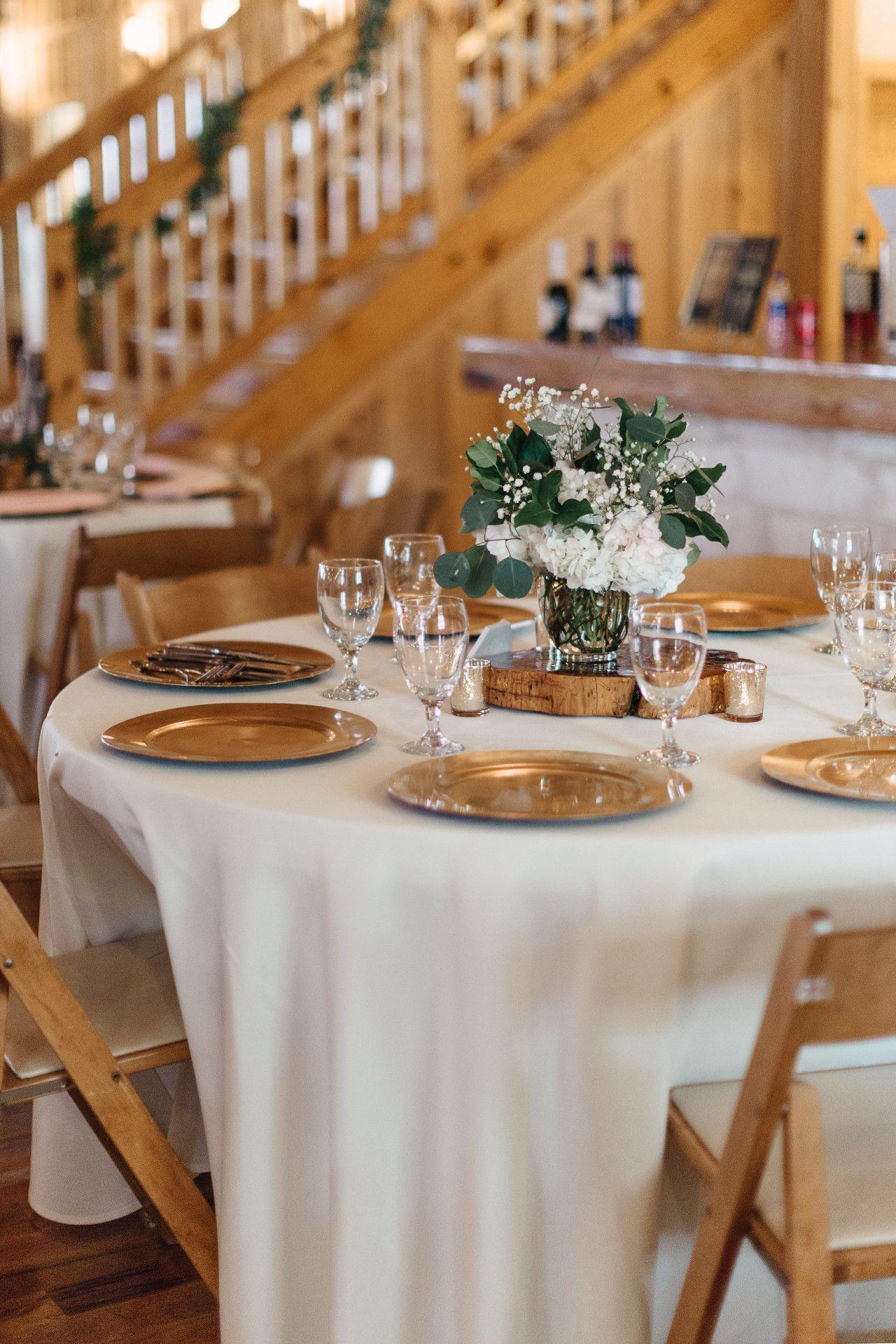 White wedding decor ideas  white  gold wedding table centerpiece  modern rustic wedding table