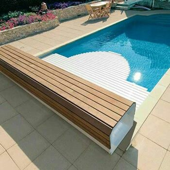 Pin By Urska Susnik On Hisa Tunjice Automatic Pool Cover Pool