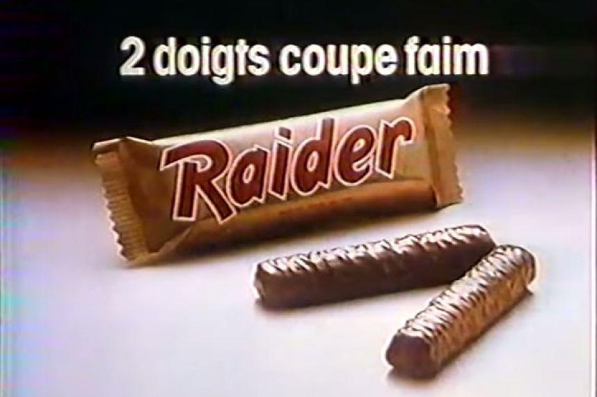 Raider, 2 doigts coupe faim