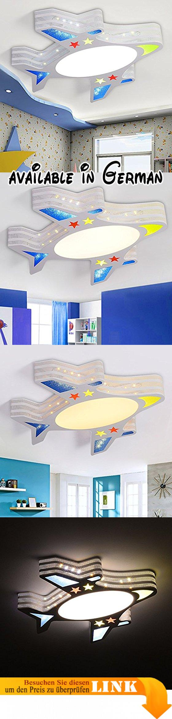 WAWZW Deckenlampe Cartoon Flugzeuge Licht Kinder- Deckenleuchte ...