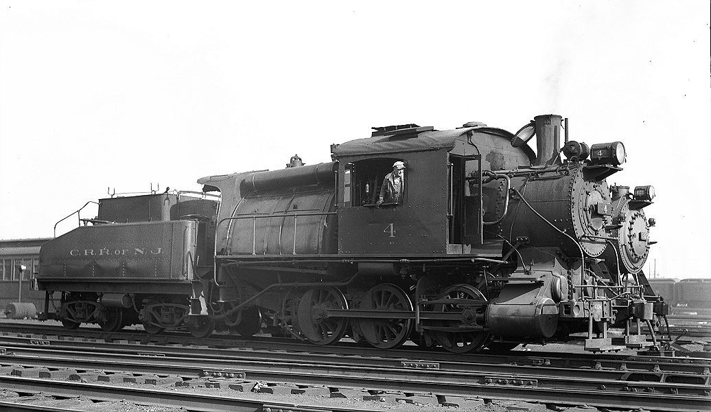 #4 0-6-0 camelback | Central Railroad of New Jersey in ...