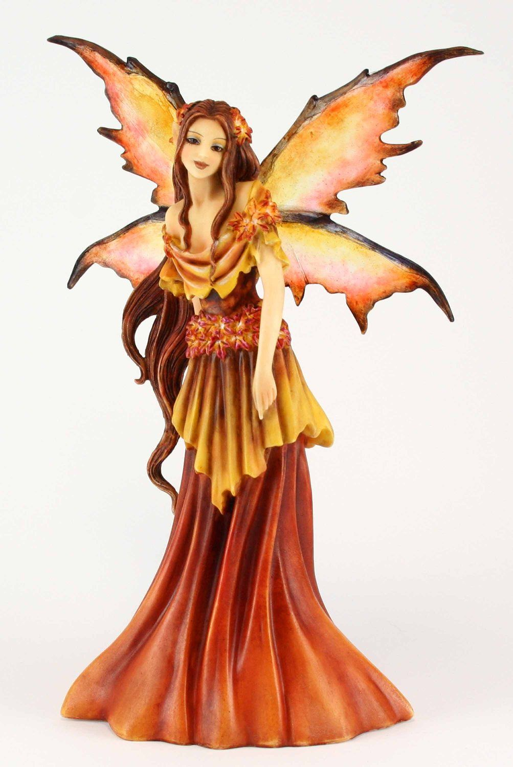 Faerie Statues Autumn Fairy Queen By Amy Brown From Fairysite Fairy Garden
