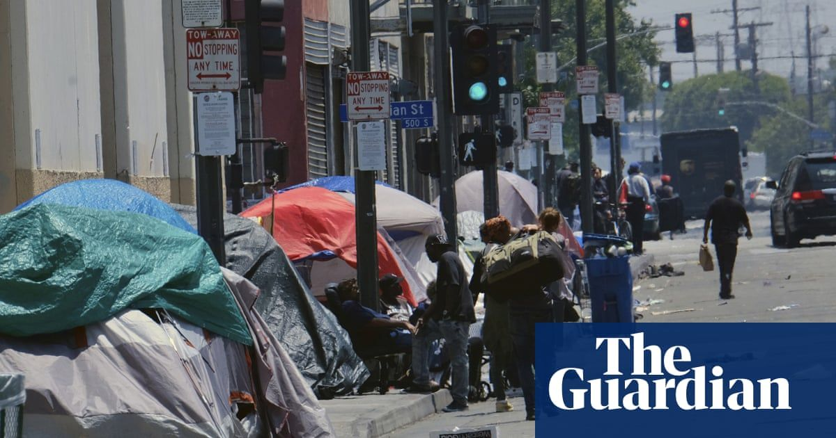 Los Angeles Homeless Population Hits 36 000 In Dramatic Rise Los Angeles Homeless Dramatic