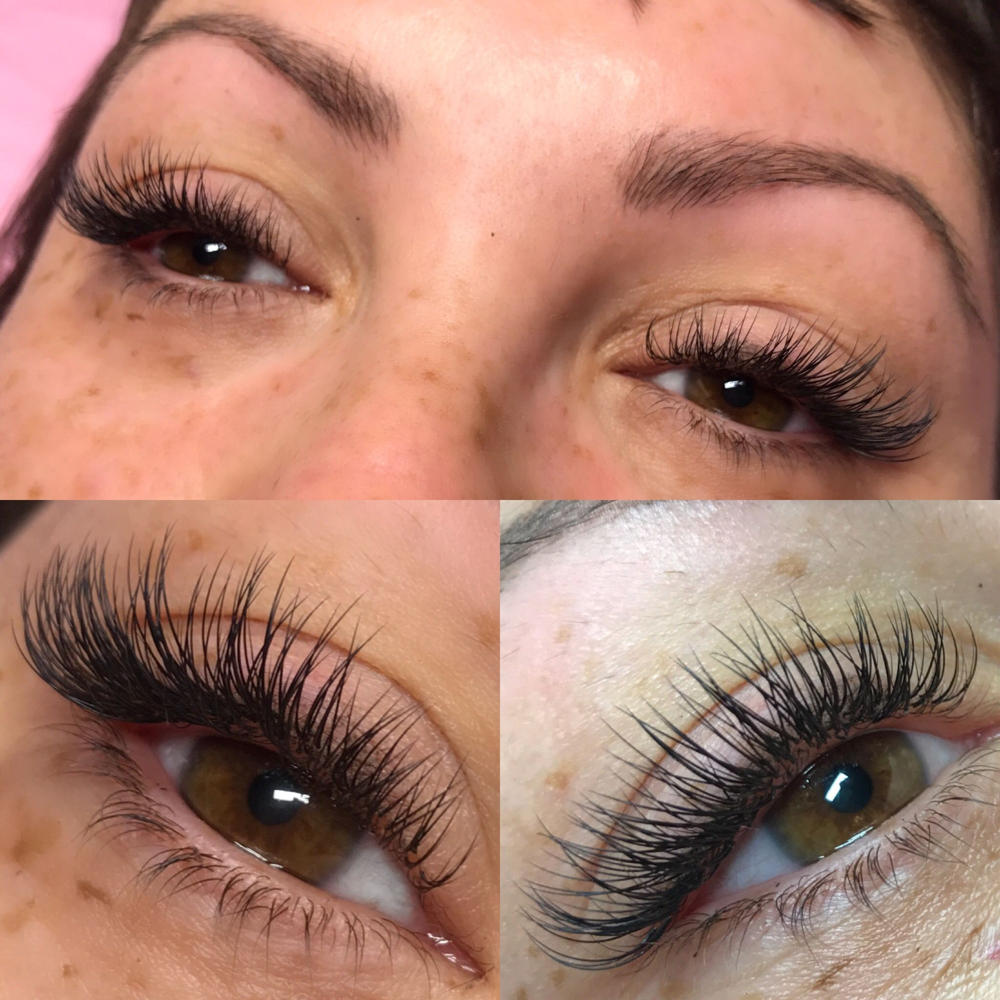 8f86f2bba0a Classic Lash Extensions | by Lashes By Gena | Hair + Makeup in 2019 ...