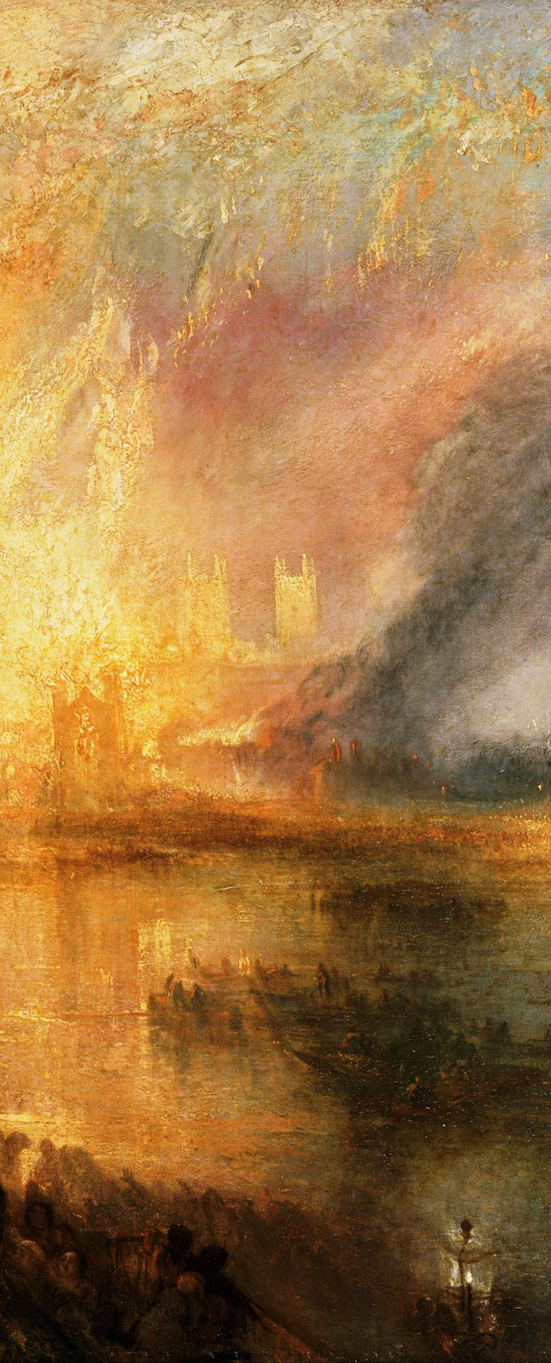 The Burning Of The Houses Of Lords And Commons October 16 1834