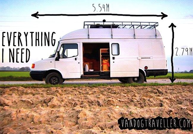 3023b459a5 Man Quits Job To Travel In Solar Powered Home On Wheels ...