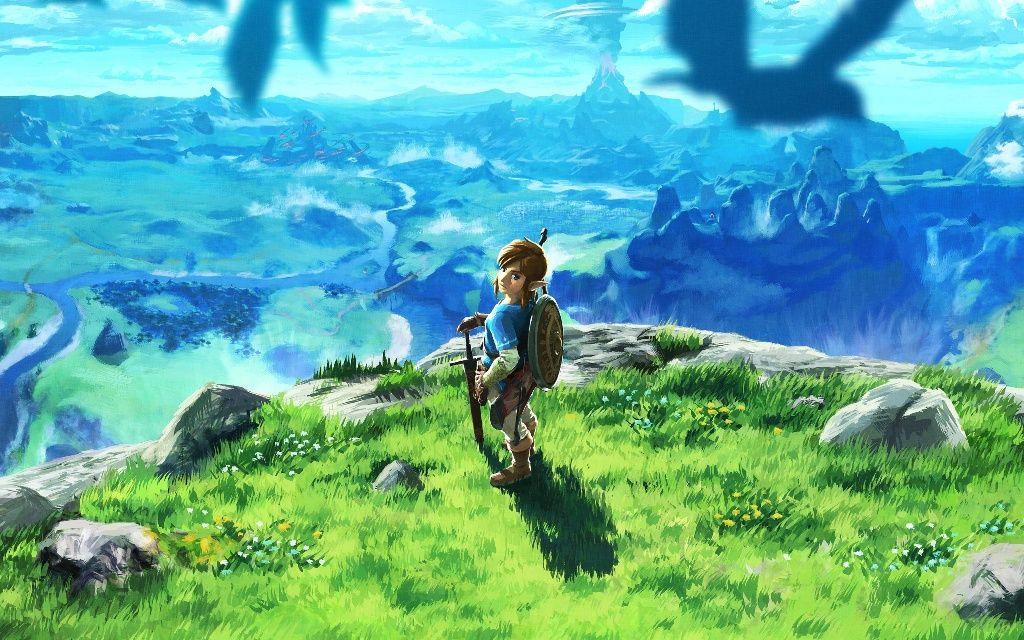 Breath Of The Wild Wallpaper Official Zelda Breath Of Wild