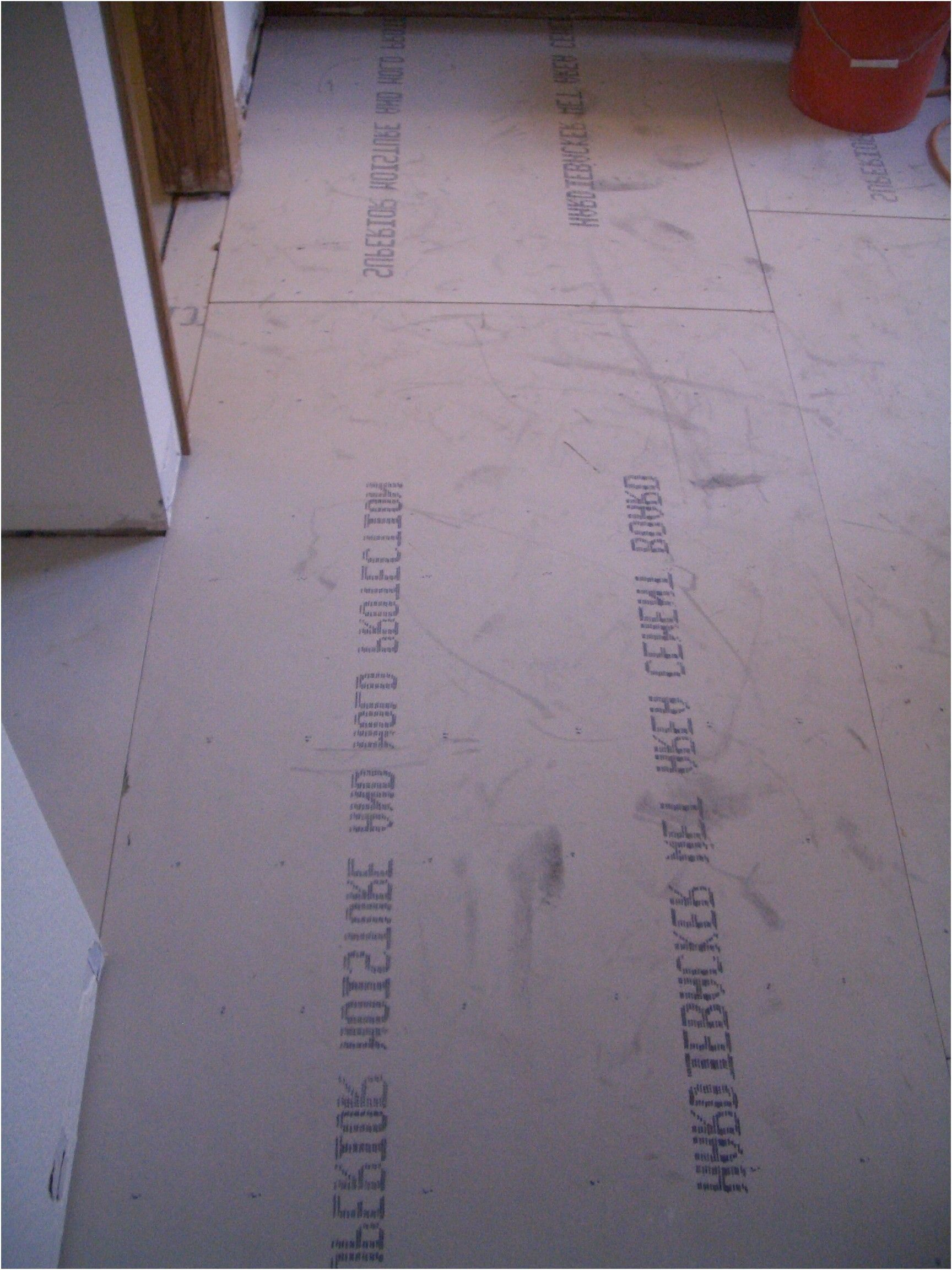 How To Install Cement Backerboard For Floor Tile From How To Install
