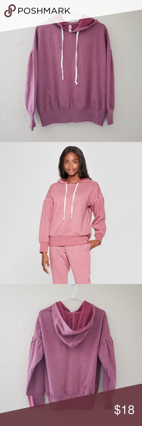 Xhilaration Womens Cozy Hooded Sleep Sweatshirt