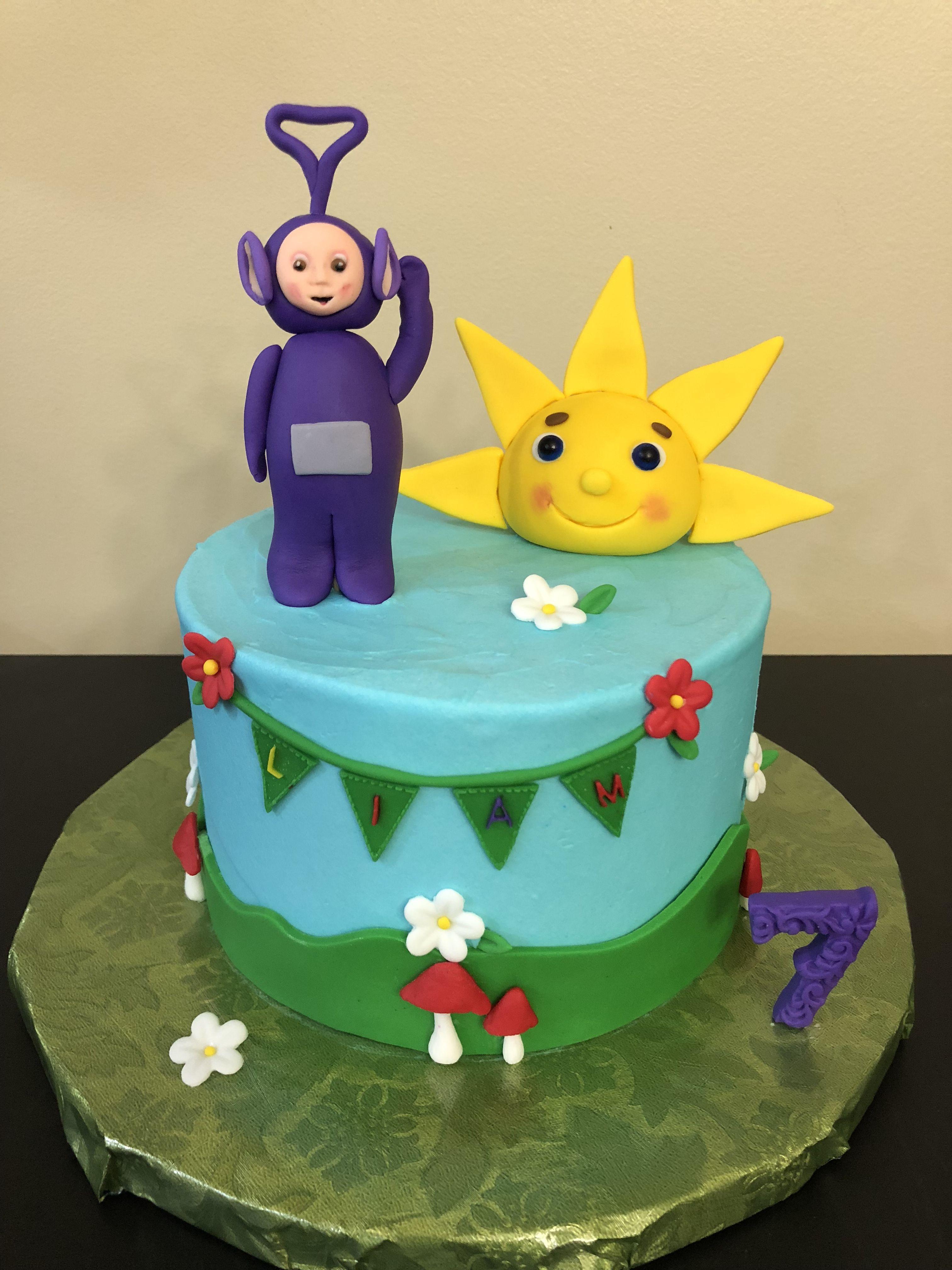 Teletubby birthday cake Cake Decorating Pinterest