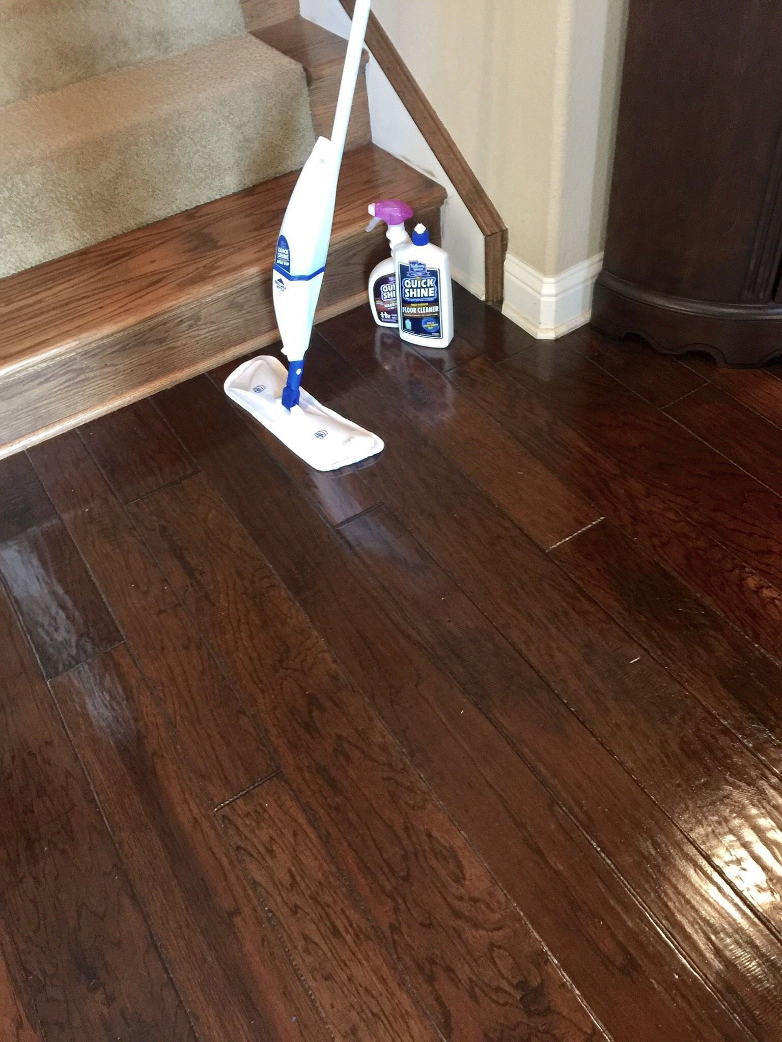Quick Shine Keeping Your Wood Floors Clean Clean Hardwood