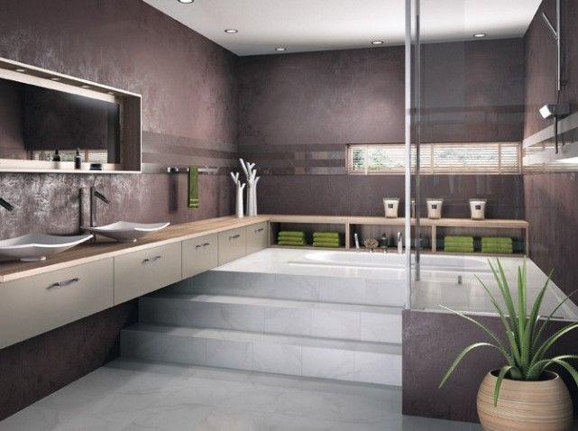 salle de bains zen - Elle Décoration | Schöne badezimmer, Badezimmer ...
