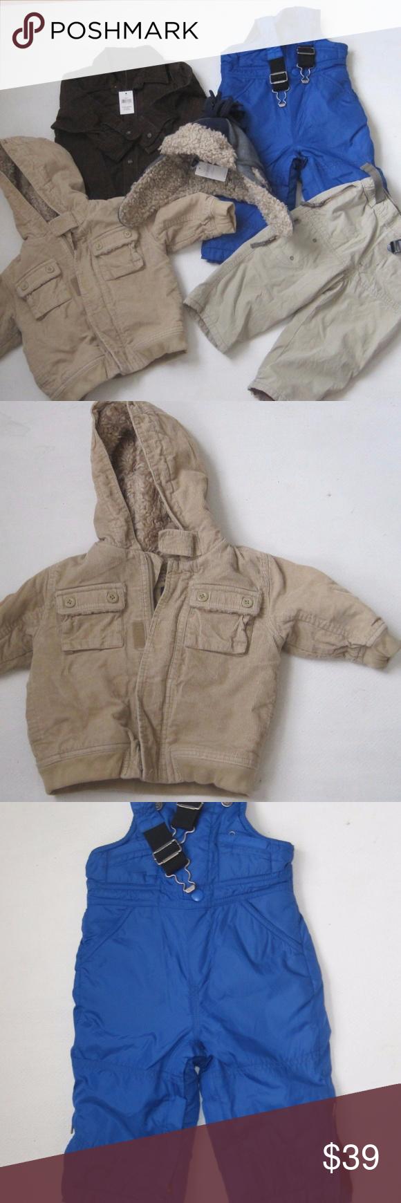 f9716a404a86 Baby GAP Boys Set 12 - 24 M Pants Jacket Shirt Hat