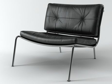 Beau Living Divani Frog Lounge Chair 3d Model | Piero Lissoni