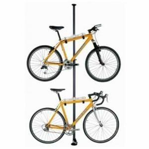 Range 2 Velos Sol Plafond Support Velo Rangement De Velos Dans Un Garage Bicyclettes