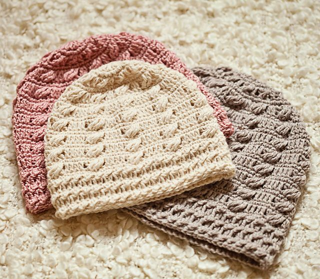 Cable Beanie pattern by Mon Petit Violon