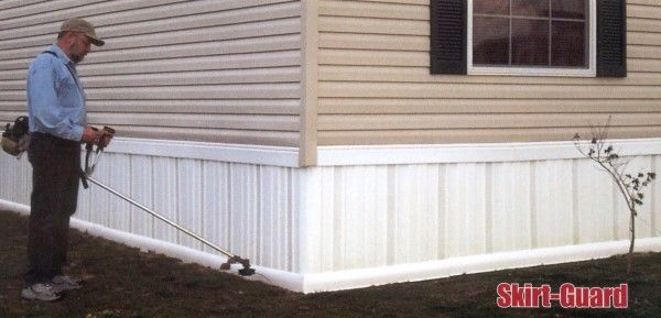 skirting protection for mobile home skirting. protectsskirting on