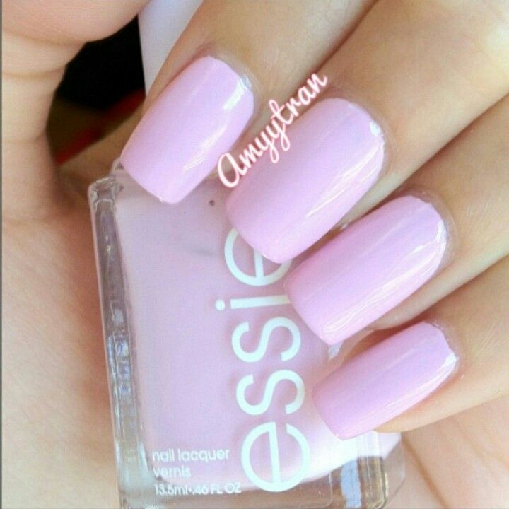 French Affair. Prettiest Pastel Baby Pink Nail