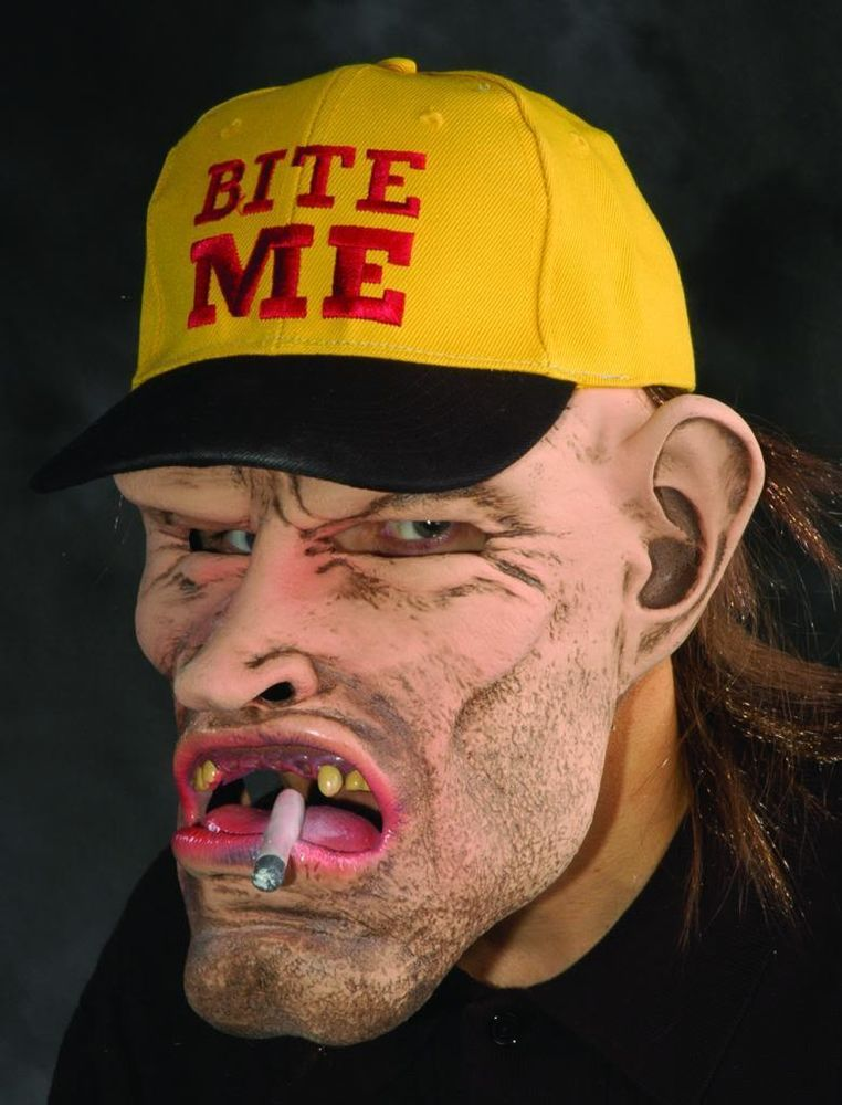 67191e12ea2aa Adult Zagone Studios Scary Dude HILLBILLY Costume Mask  ZagoneStudios