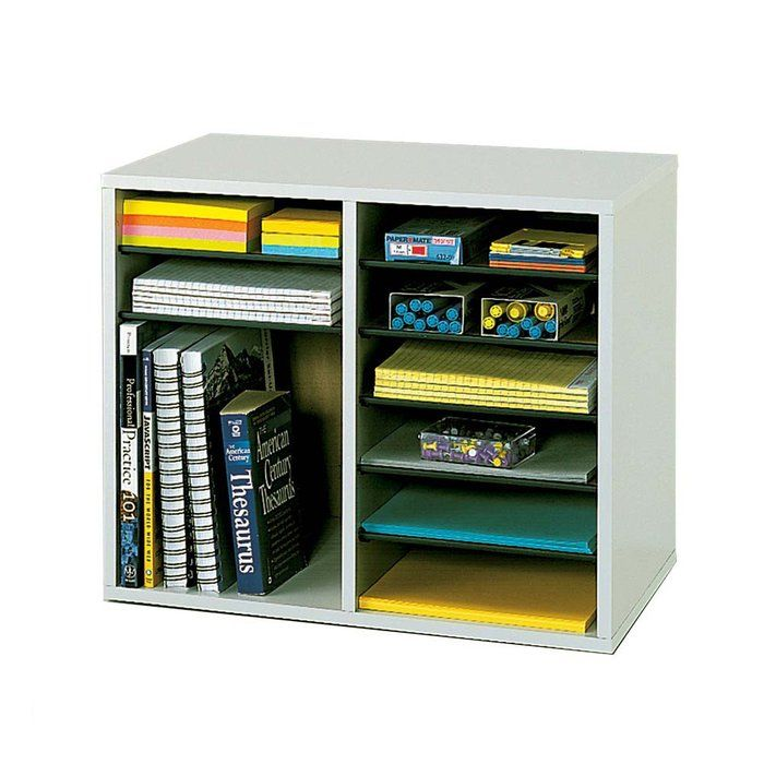 desk organizer with 12 adjustable compartments organization desk rh pinterest com