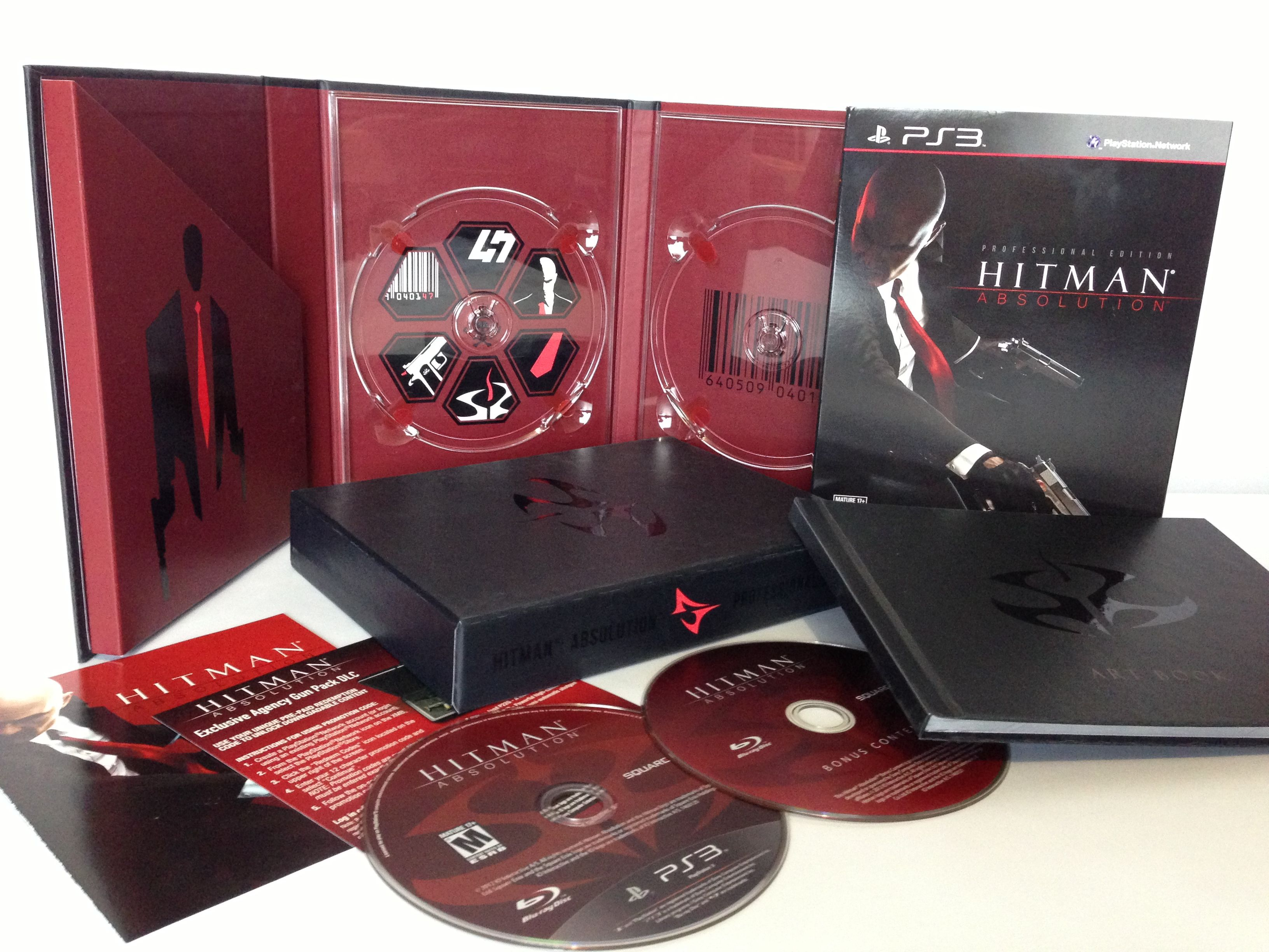 Edition For Ps3 Hitman Absolution Ps3 Collector S Edition Clic Picture For