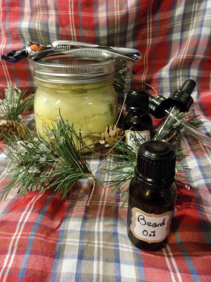 Essential Oils for Men Homemade Shaving Cream and Beard