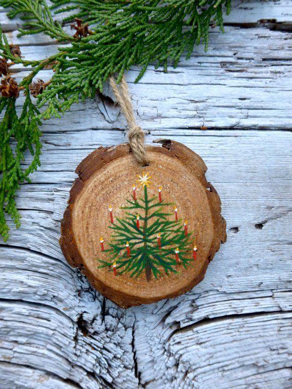 O' Christmas Tree: Rustic Tree Ornament