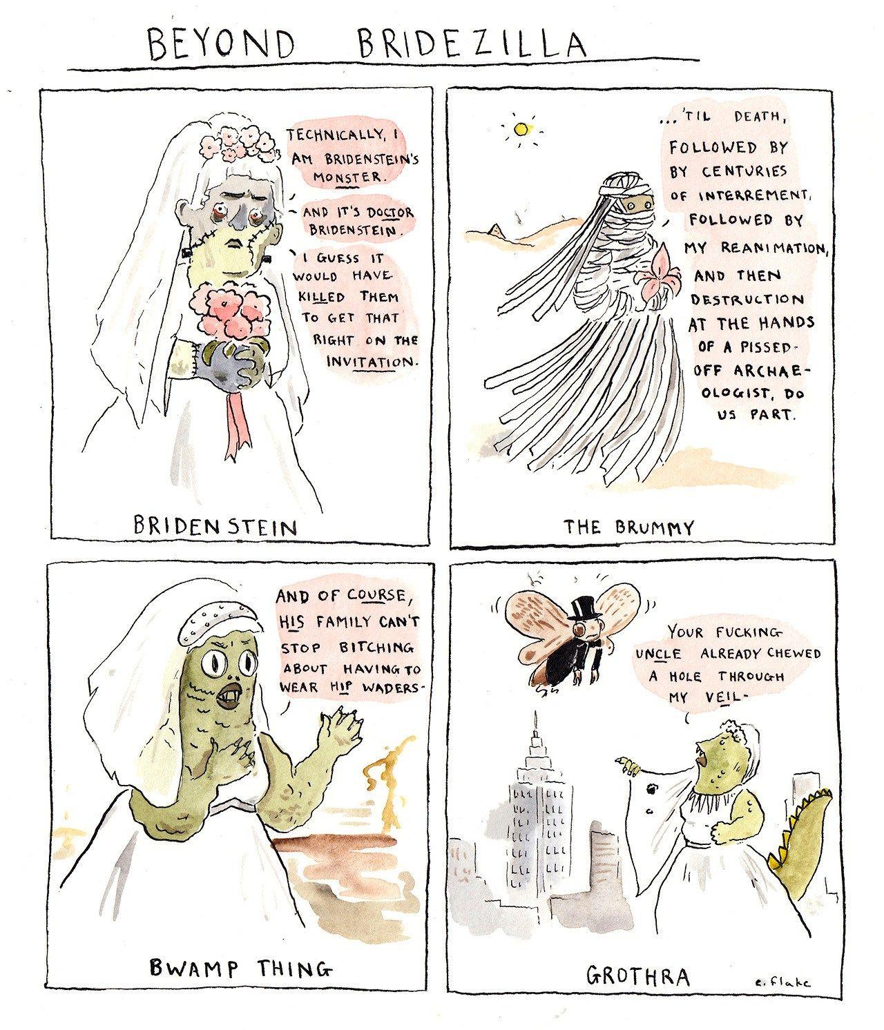 Bridezillas Can Be A Nightmare #emilyflake #bridezilla