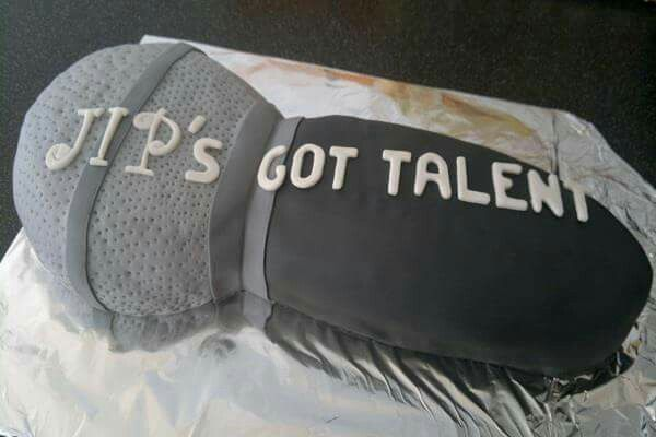 Holland's got talent cake made by me.