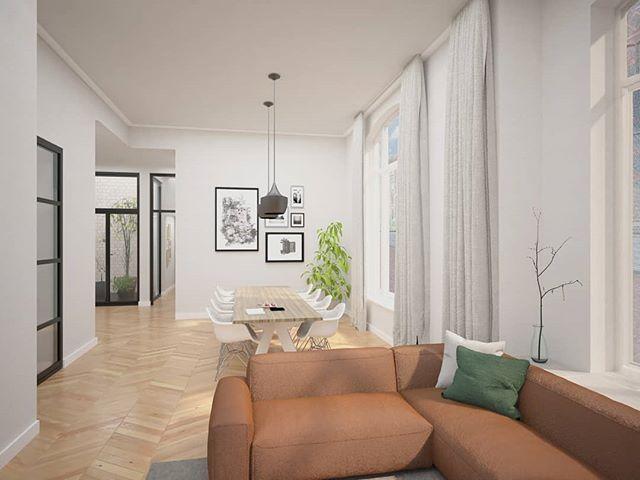Interieur Verbouwing Hoekpand : Verbouwing interieur studioschaeffer b v modern wonen in een