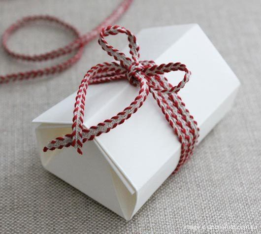 Hexagonal House Gift Boxes via uponafold.com.au from Origata in Japan.