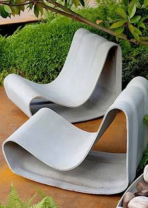 modern concrete patio furniture. Beautiful Furniture Antikmodern Well Made Willy Guhl Loop Chair In Modern Concrete Patio Furniture C