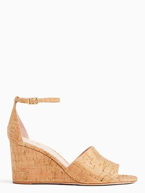 53a26ce92bf7 Kate Spade Lizzy Wedge Sandals
