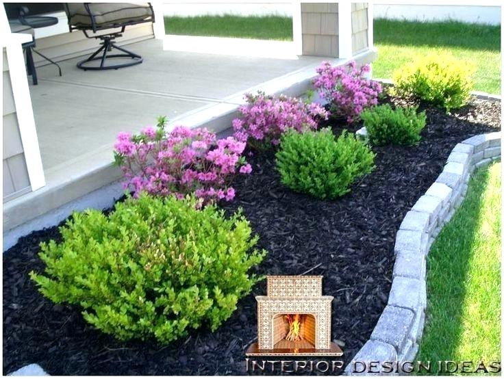 Pin By Jessika Harding On Flowers Landscaping Low Maintenance Landscaping Front Yard Front Landscaping Front Yard Garden