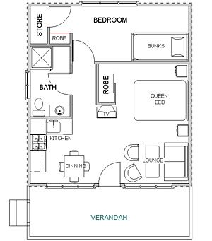 romantic cabin floor plans. Tiny Romantic Cottage House Plan  cabin small country